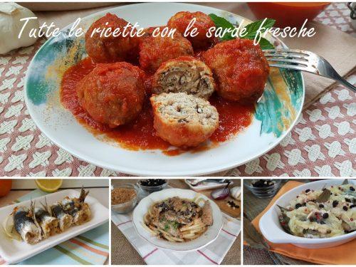 Le ricette con le sarde fresche – cucina siciliana