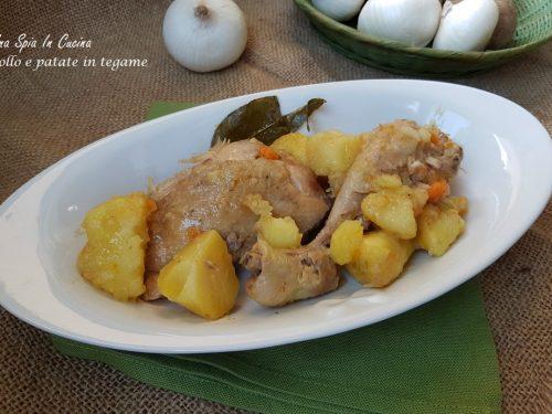 Pollo e patate in tegame – Secondo e contorno