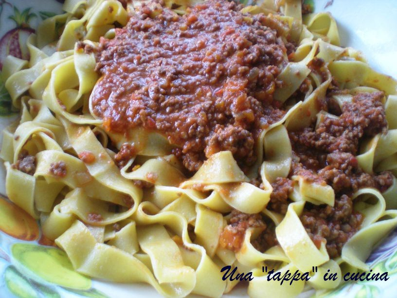 pappardelle alla bolognese braised beef veal pork pappardelle alla ...