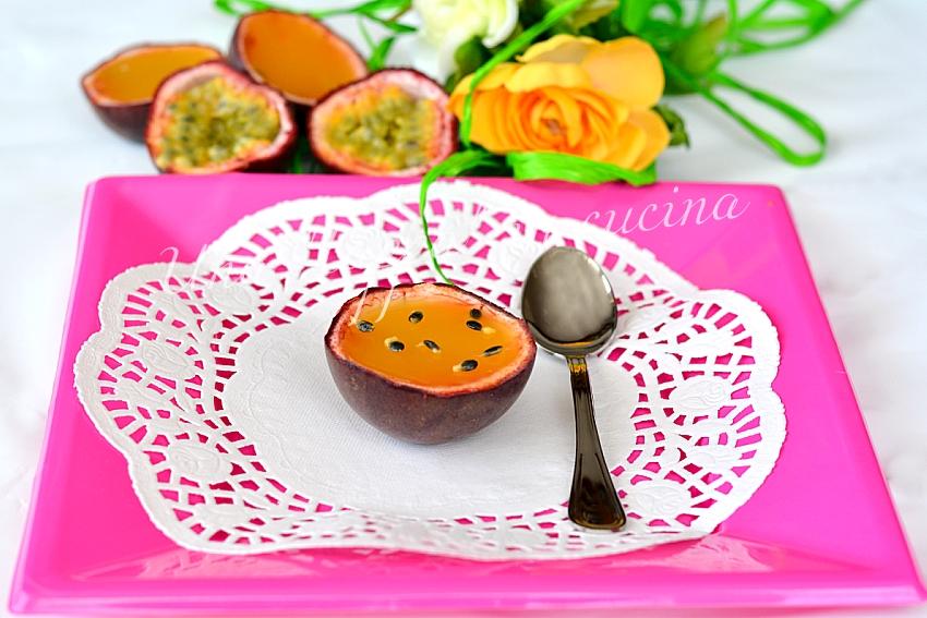 Gelatina di passion fruit