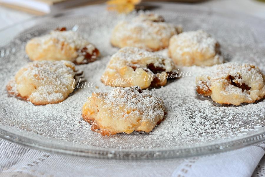 Biscotti con uvetta al microonde
