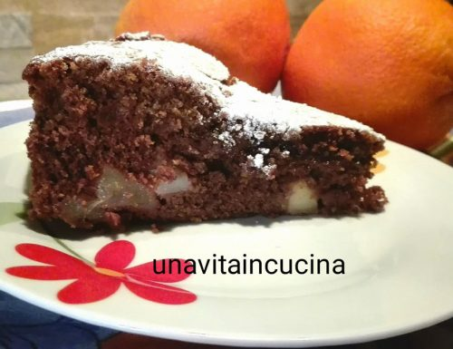 Torta pera e cioccolato