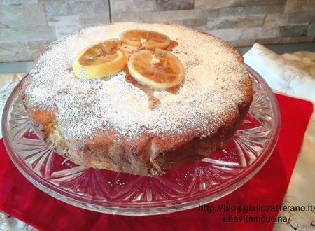 Torta zenzero e limone