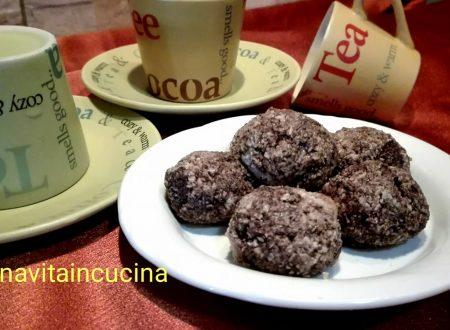 Bonbon cocco e cioccolato
