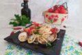Linguine con vongole e pomodorini