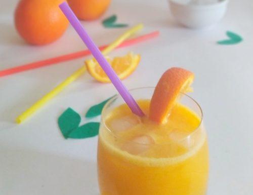Aperitivo analcolico all'arancia