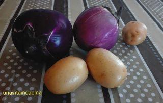 Polpette di melanzana e patate