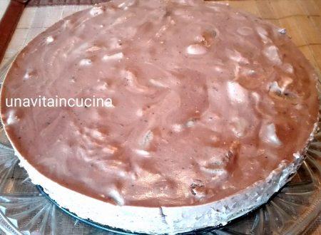 Cheesecake cioccolato e pera