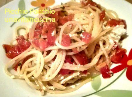 Spaghetti alla Picchio Pacchio