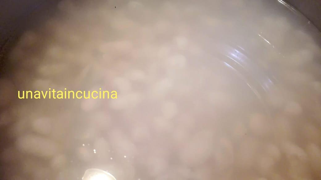 Pasta e fagioli cannellini