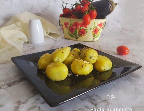 Gnocchi ripieni di melanzane