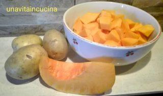 Ravioli di zucca e pancetta