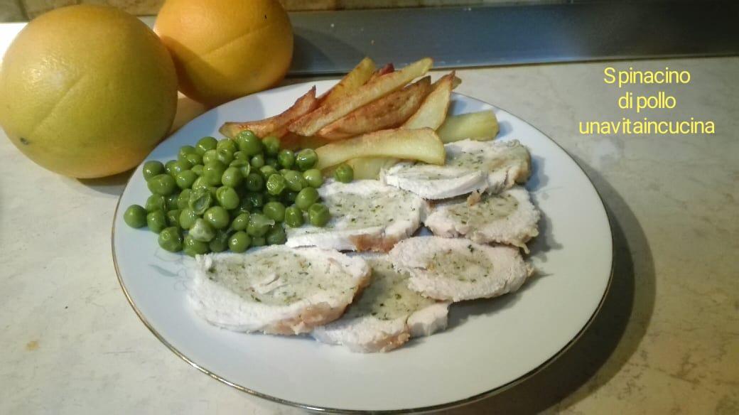 Spinacino di pollo