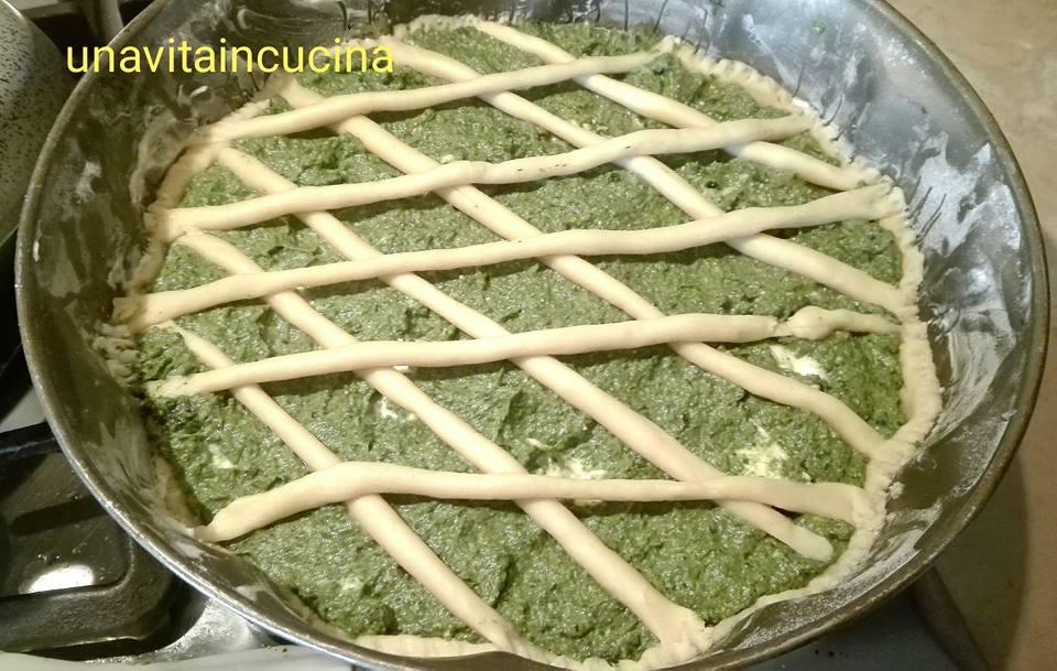 Torta salata di ricotta e spinaci