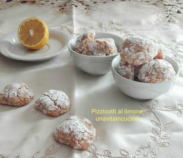 Pizzicotti al limone