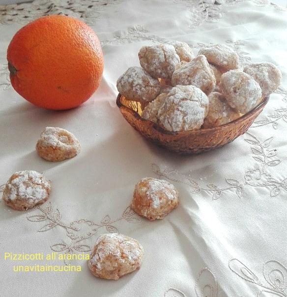 Pizzicotti all'arancia