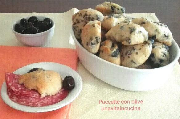 Puccette alle olive