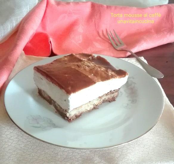 Torta mousse al caffè