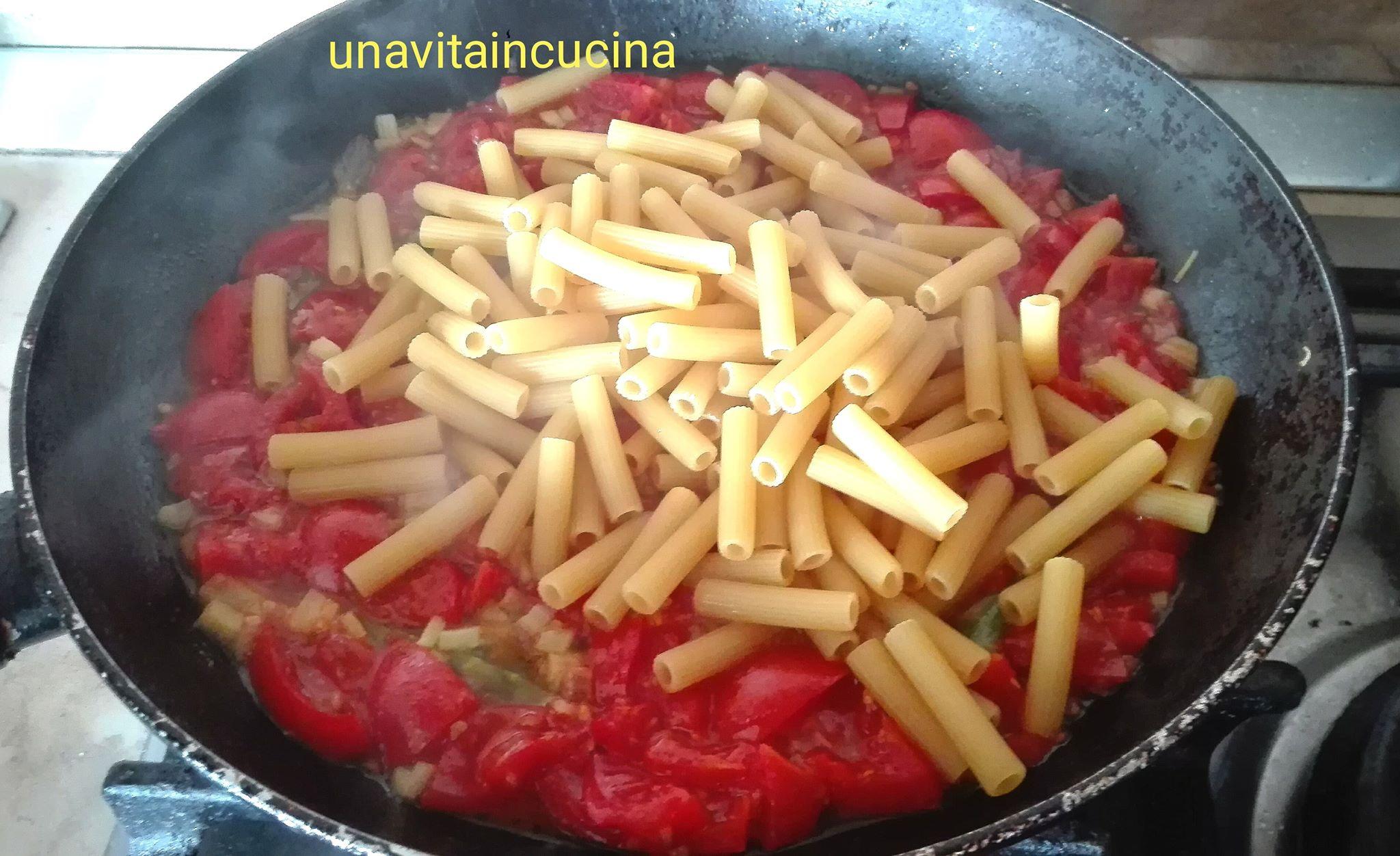 Pasta risottata con asparagi