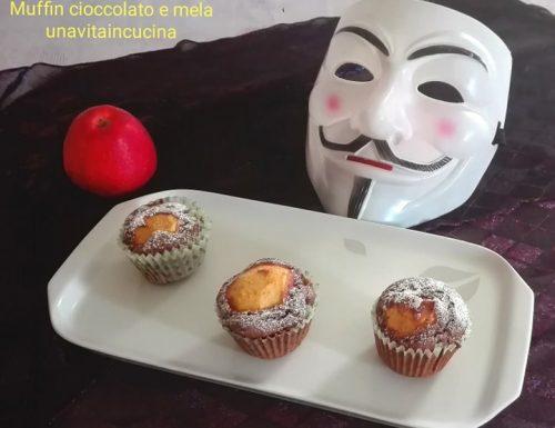 Muffin cioccolato e mela