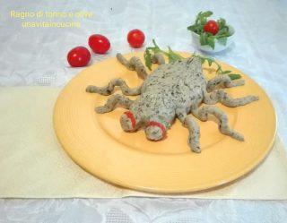Ragno di tonno e olive