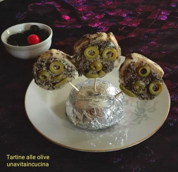 Tartine alle olive