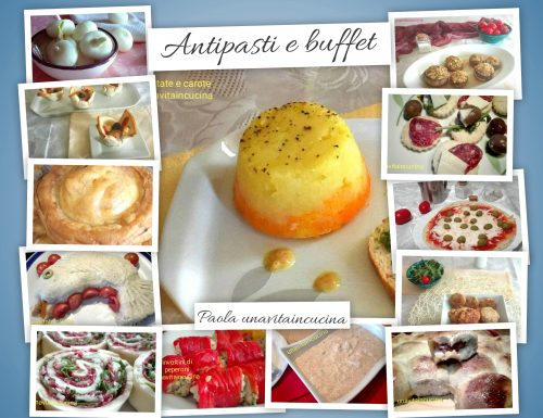 Antipasti e buffet