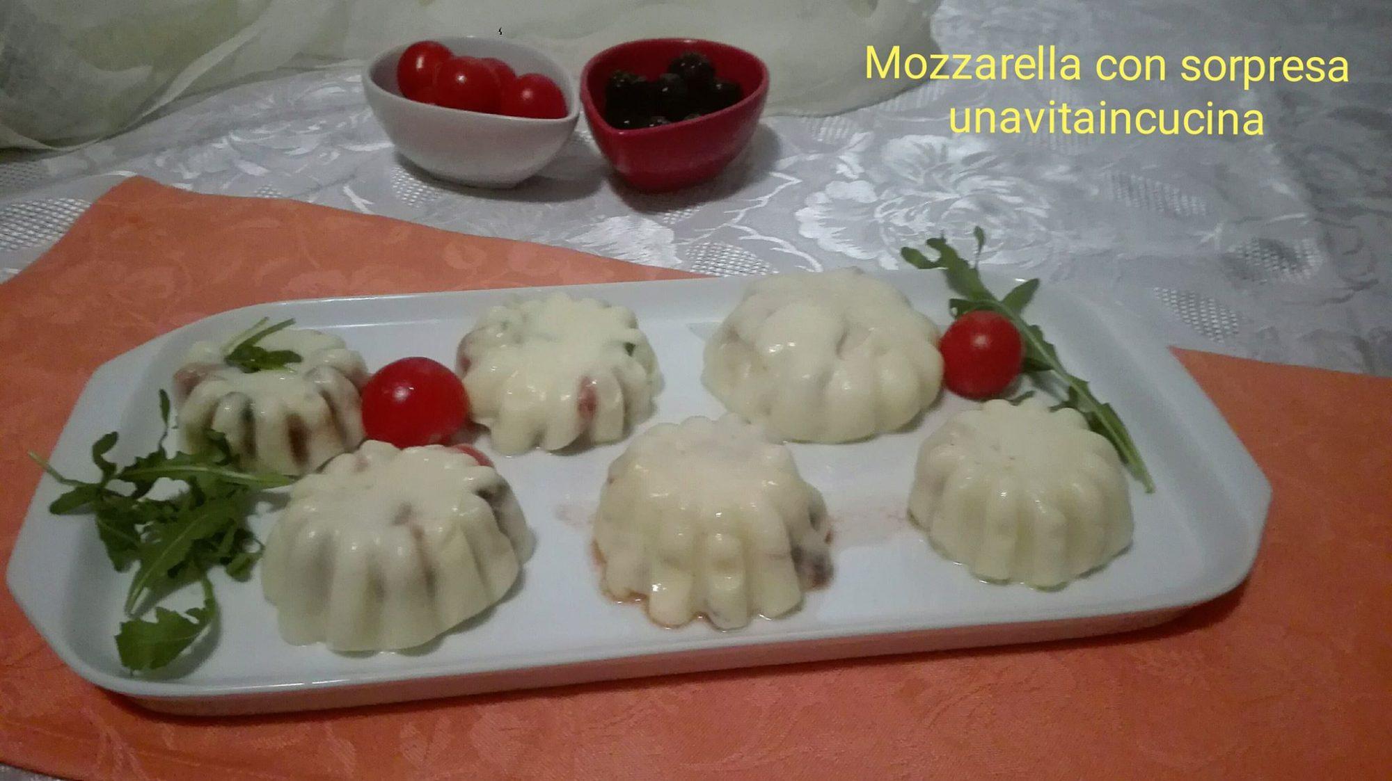 Mozzarella con sorpresa