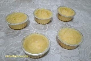 Cestini di polenta con spezzatino