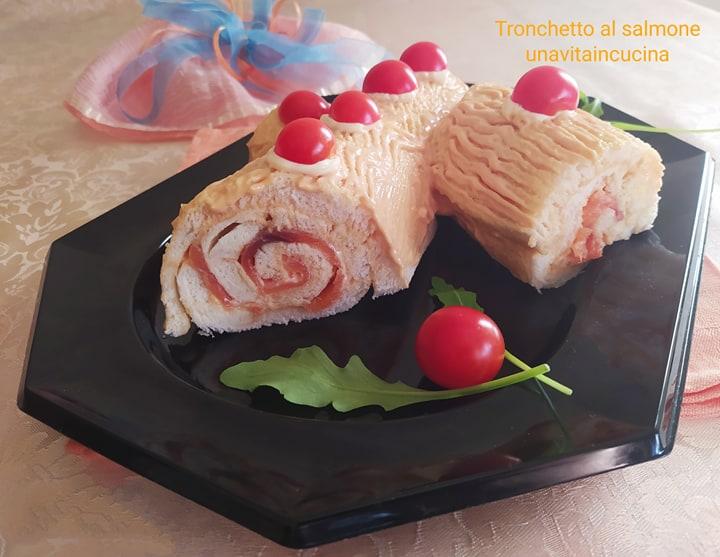 Tronchetto al salmonee