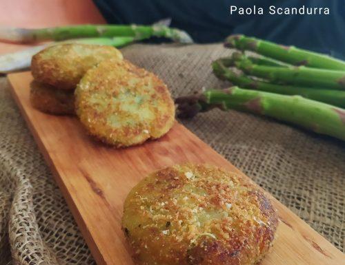 Burger di asparagi