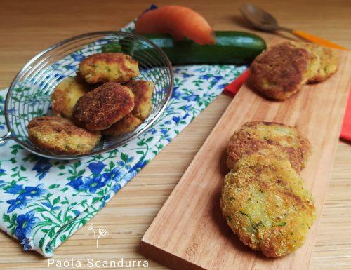 Burger di zucchine e carote