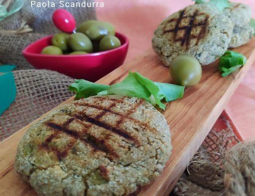 Burger di tonno e olive