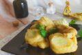 Fiori di zucca al pistacchio
