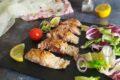 Tataki di salmone