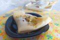 Crepes con crema di pistacchio