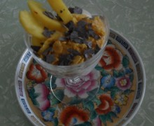 Coppa golosa allo yogurt