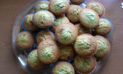 Muffin menta e cioccolato