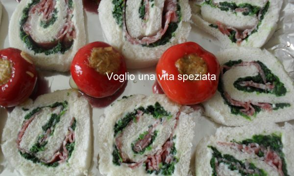 Girelle agli spinaci