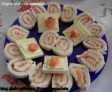 Girelle di salmone