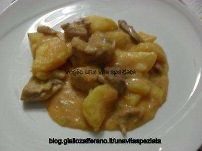 Paprikash di tacchino con patate