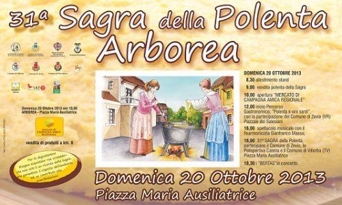 Sagra della Polenta, il 20 ottobre ad Arborea