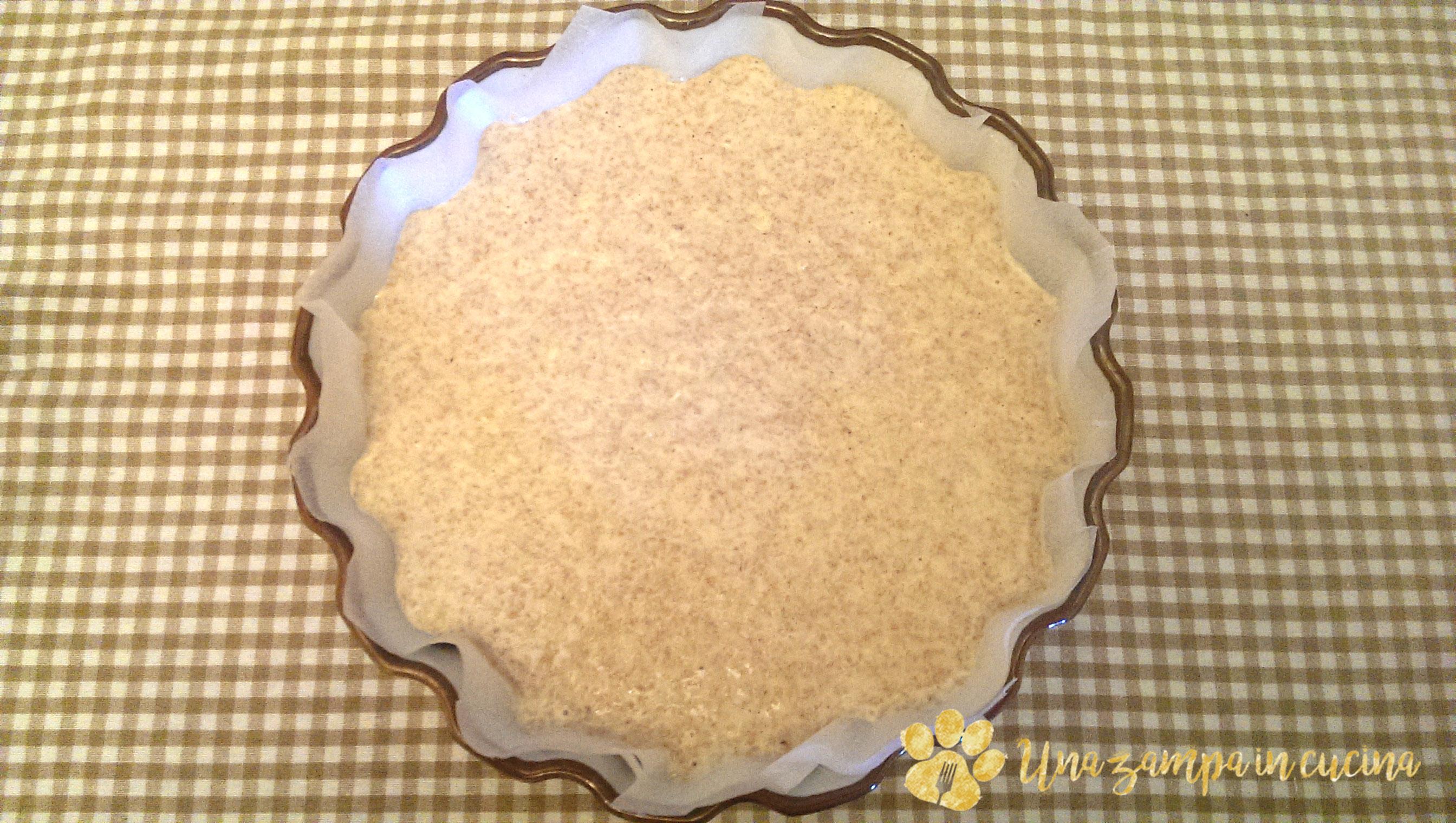 Torta yogurt limone zenzero senza zucchero