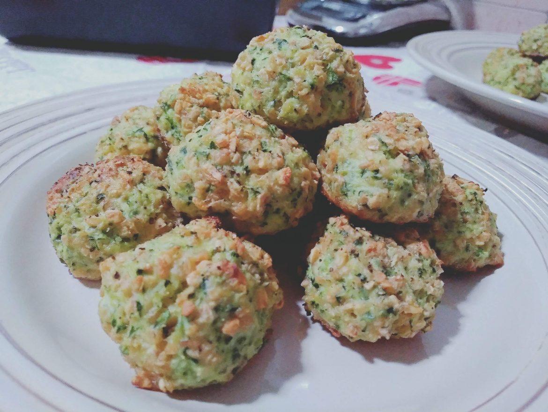 Polpette fit, polpette vegetariante fit con zucchine e ricotta