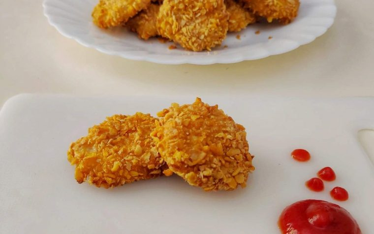 Chicken nuggets croccanti al forno