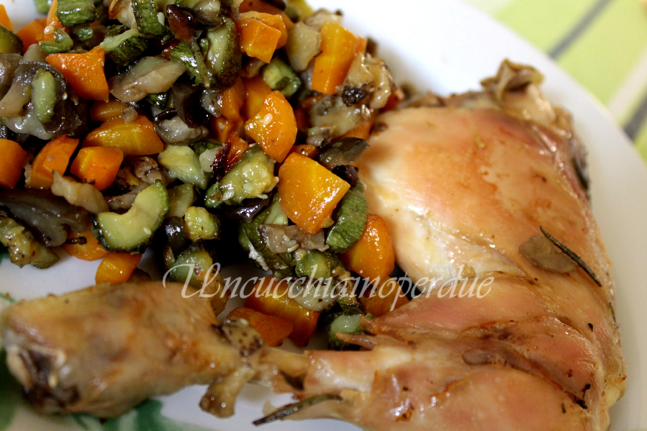 POLLO CON VERDURE Light