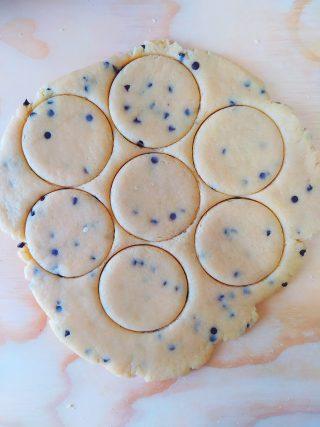 cookies biscotto con gocce di cioccolato
