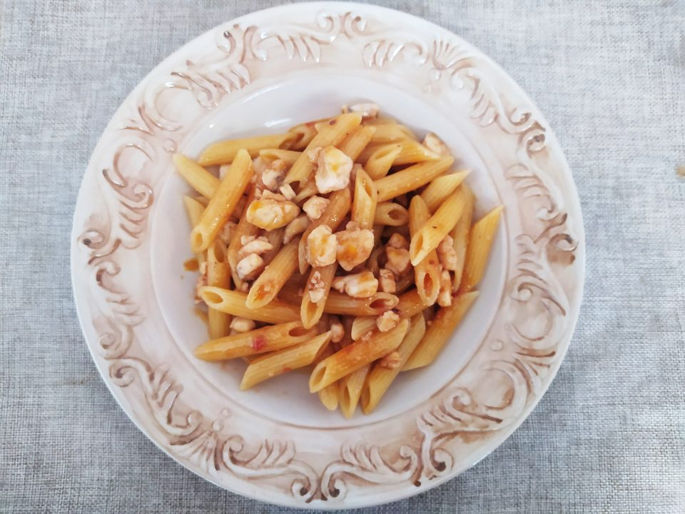 pasta con ragù di gallinella