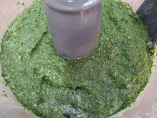 impasto di spinaci