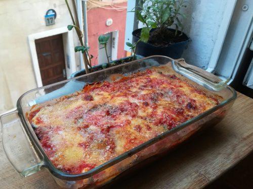 Parmigiana di melanzane light